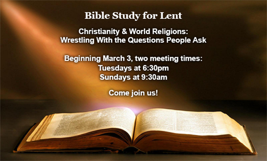 Bible Study for Lent